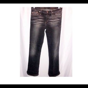 B2-0166 AG Adriano Goldschmied jeans Black 27R